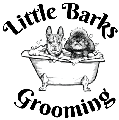 Little Barks Grooming logo